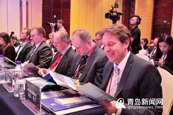 """青岛德国商务周开幕 打造交流合作""""国际客厅"""""""
