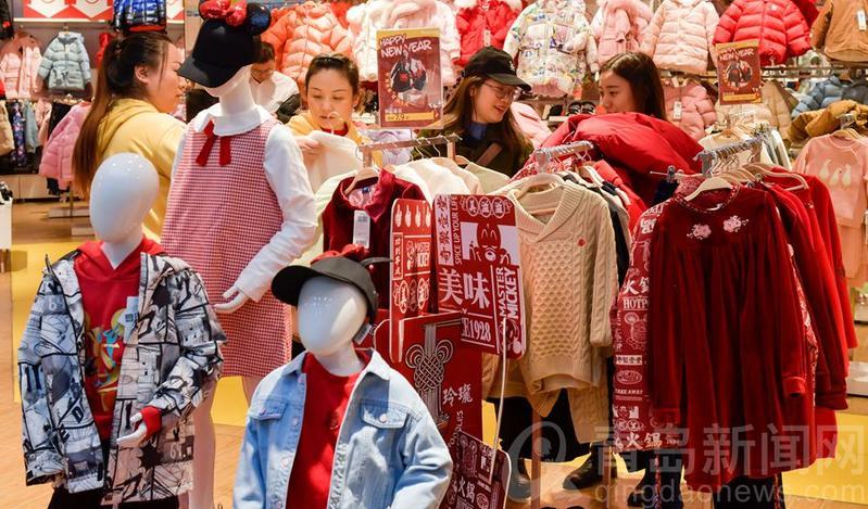 【小庞逛青岛】喜迎新春 年轻人购物消费手不软屈臣氏加盟费