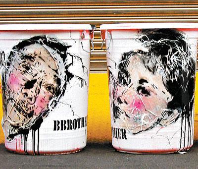 刘嘉玲肖像上了垃圾桶