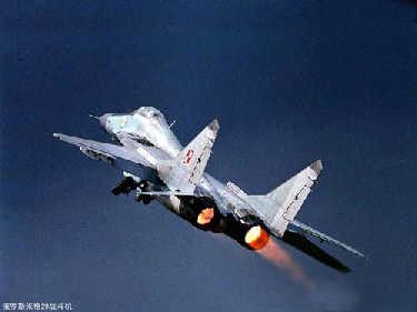 俄罗斯两战机空中相撞