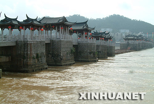 中国四大古桥之一广济桥修复庆典