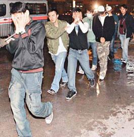 今年1月初,香港警花卧底夜店发现大批泰籍男妓(资料图)-警花卧底