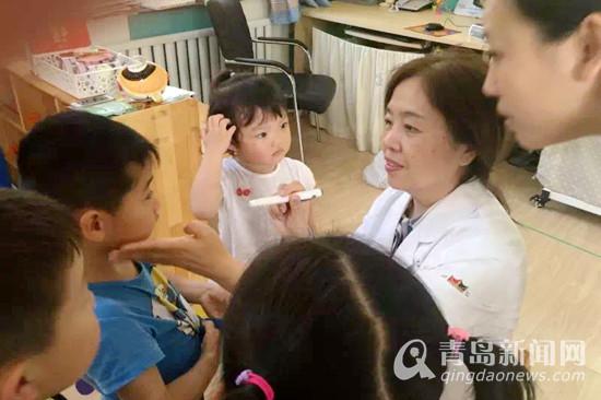 专访青大附院赵桂秋:热爱专注甘做光明使者