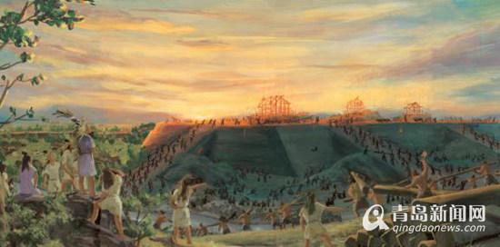 """穿越千年发现""""中华第一城""""-杭州媒体行 探秘良渚古城遗址 不泯的文"""