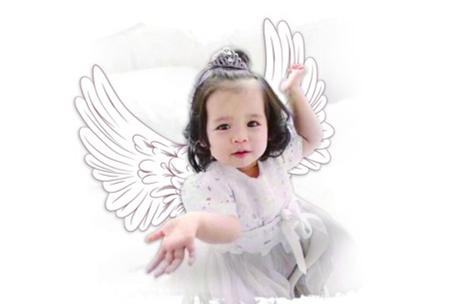 网上悼念:九月天使 爱留人间 这束花送给你!