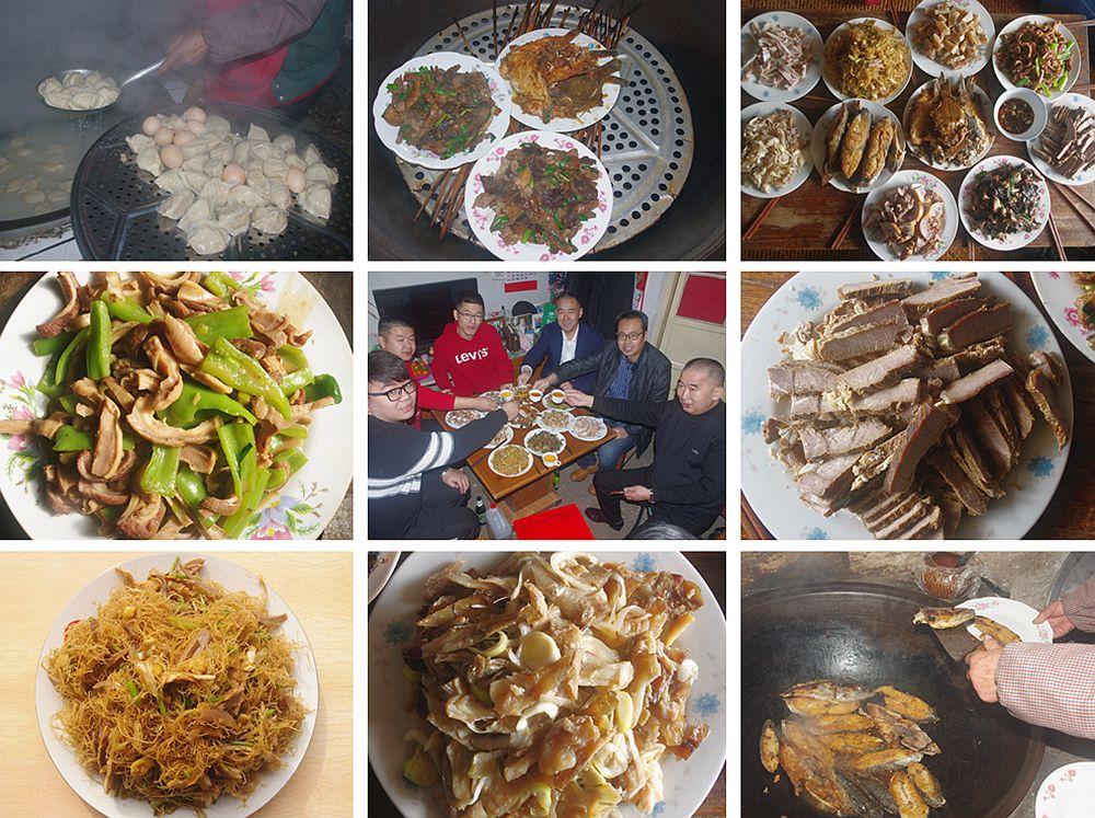 高清:乡村过年聚餐是啥样 青岛新闻网带你去品味