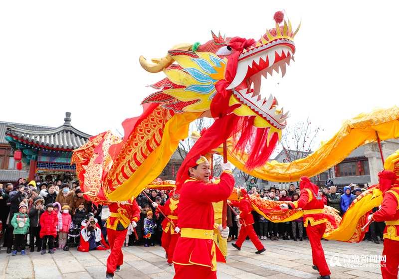 高清:即墨古城变身网红打卡地 春节期间涌入43.66万人