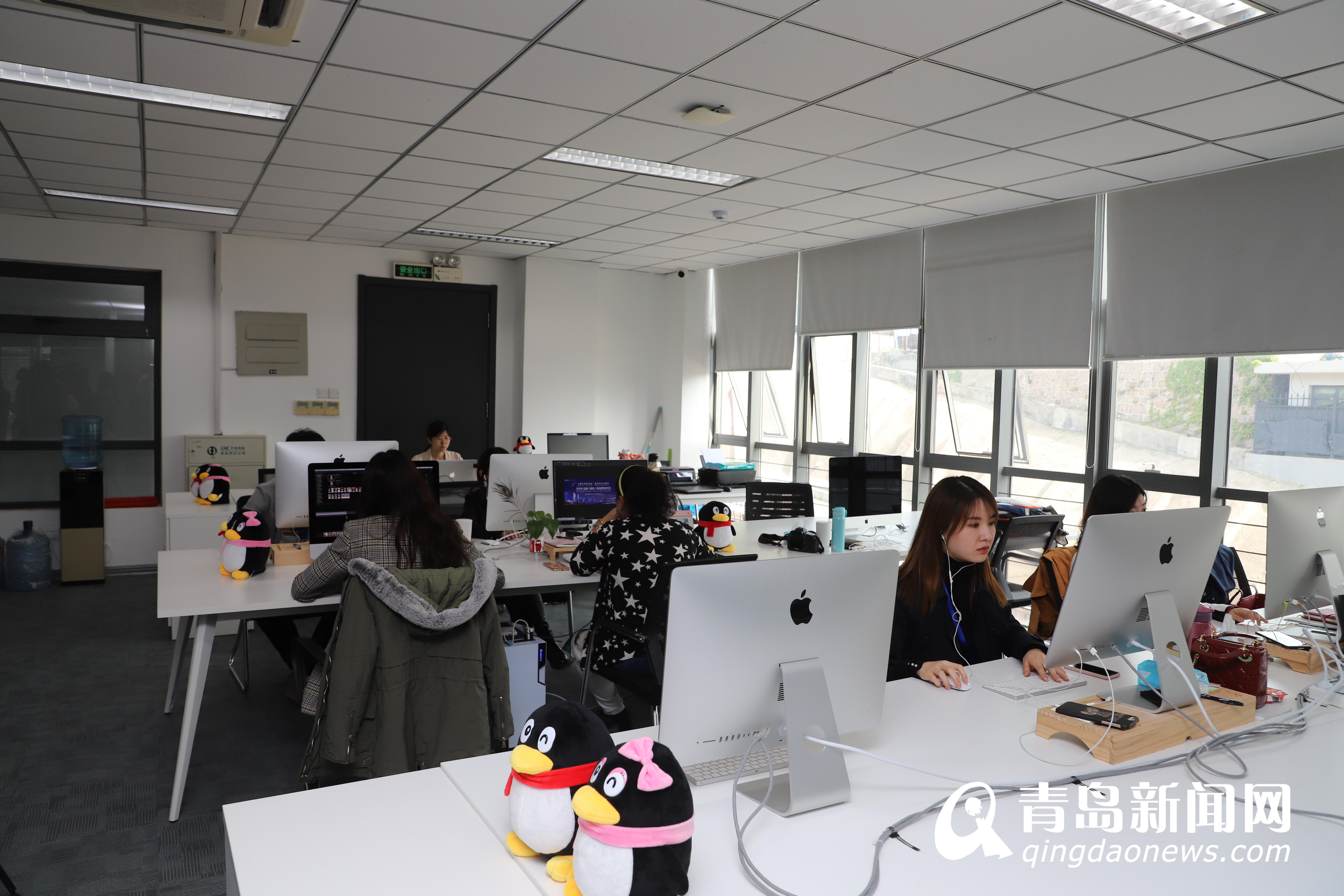 天下首个腾讯短视挖走网频运营中心落户青岛市南区