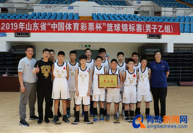 山东省篮球锦标赛济宁闭幕  青岛队以赛代练克强敌