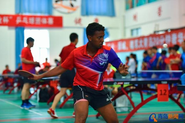 西海岸新區第九屆全民健身運動會乒乓球賽圓滿