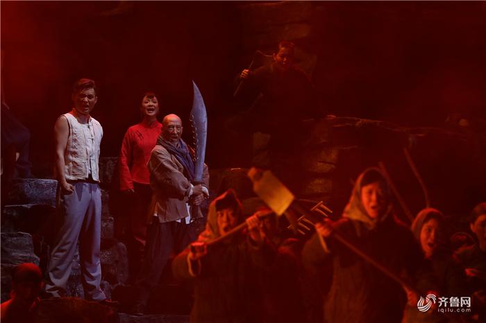 歌剧《沂蒙山》唱响沂蒙精神赞歌、凝聚民族复