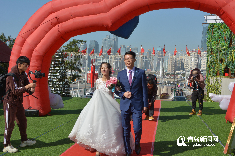 市南第二个新时代结婚礼堂启用 首场婚礼新人是他们