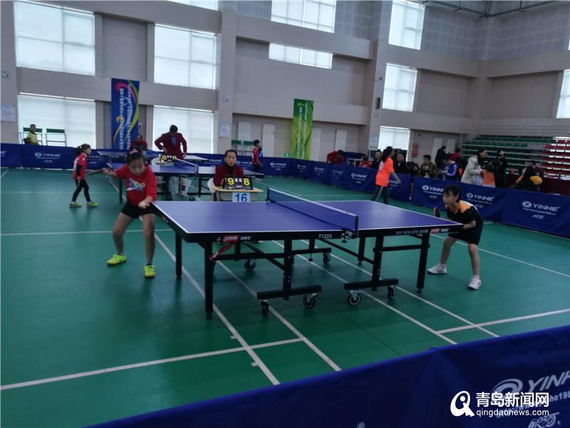 市南乒乓小将获青岛市中小学生体育联赛乒乓球赛4项冠军