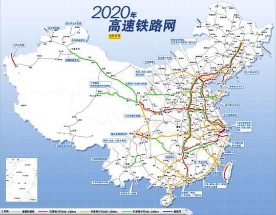 山东铁路网地图全图