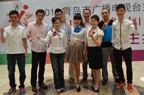 青島新聞網5月10日訊 2012青島市廣播電視臺全國主持人選拔大賽圖片