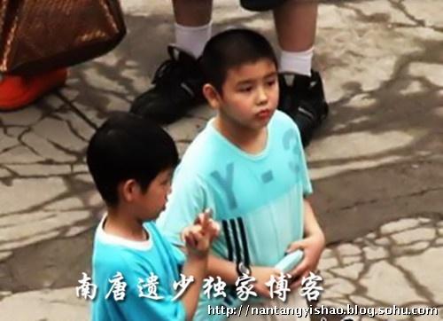 陈凯歌12岁小儿子生活照曝光