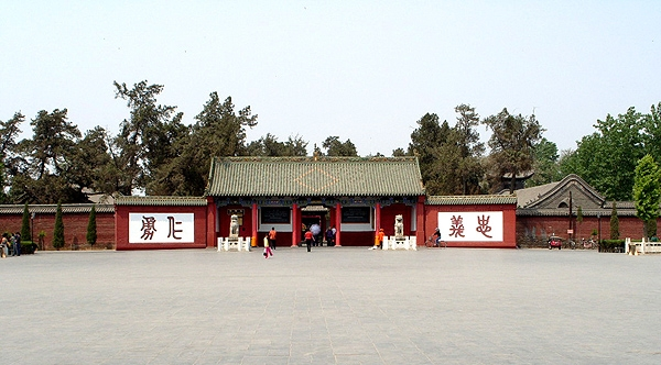 关林是明清时期古建筑的代表作之一