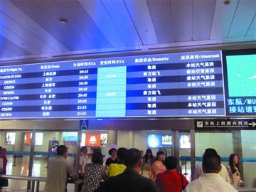 """""""怎么这么多航班都显示取消"""
