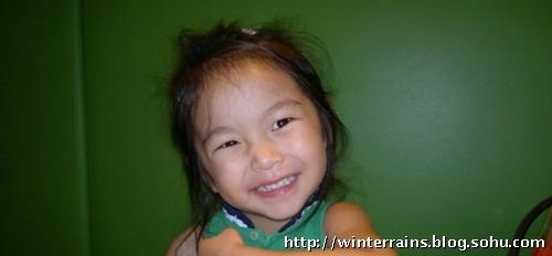 方中信四岁女儿可爱生活照曝光