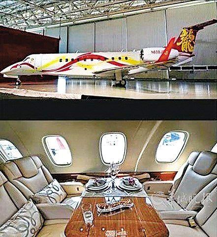 中国有私人飞机的明星们:范冰冰章子怡在列(组图)