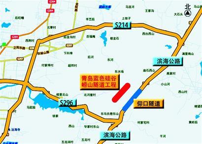 崂山仰口风景区地图
