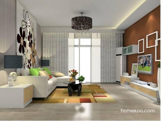 打造唯美实用客厅 2012客厅装修效果图推荐