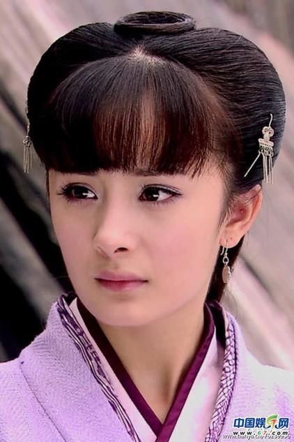 网友吐槽:《美人心计》里的雪鸢,留着厚厚的齐刘海,西汉就有齐刘海图片