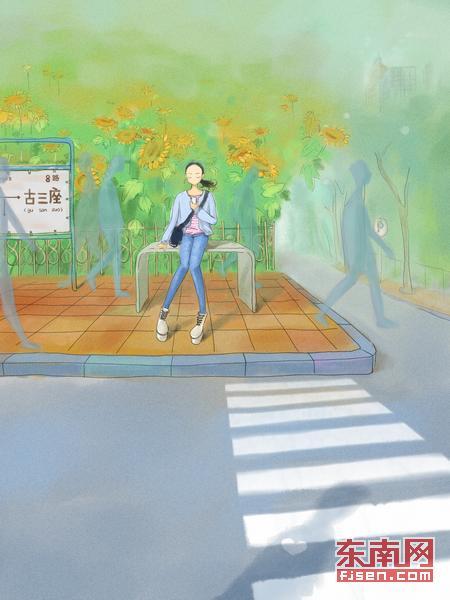 设计师邂逅8楼女孩手绘漫画示爱 网友大呼浪漫