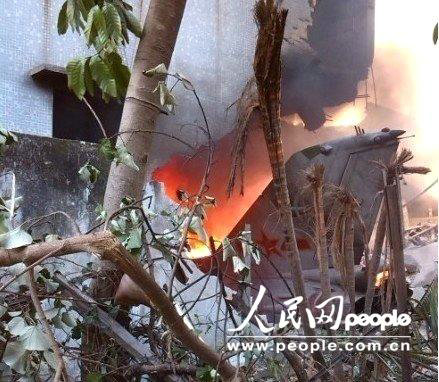 国防部:中国空军歼-7坠毁因飞机状态无法控制
