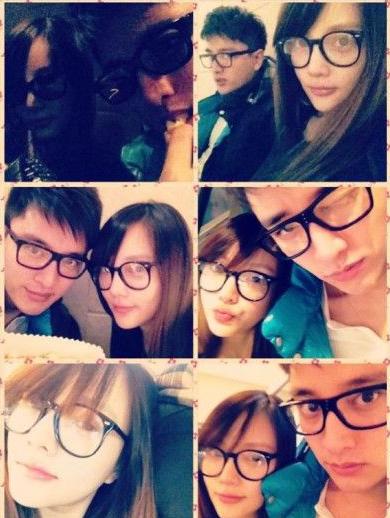 戴眼镜情侣图(3)