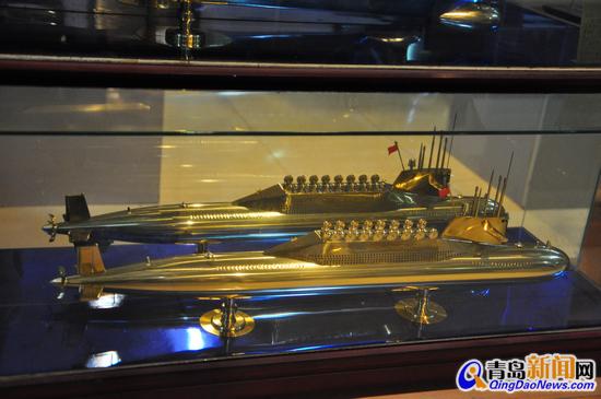核潜艇模型