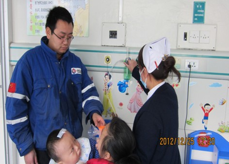 青岛开发区第一人民医院儿童雾化中心成立