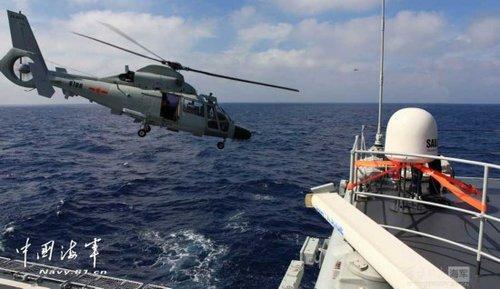 日本飞机近距跟踪中国海军