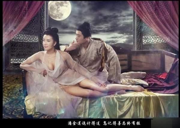 新金瓶梅静态电影曝光 潘金莲酮体半露劈腿秀诱惑