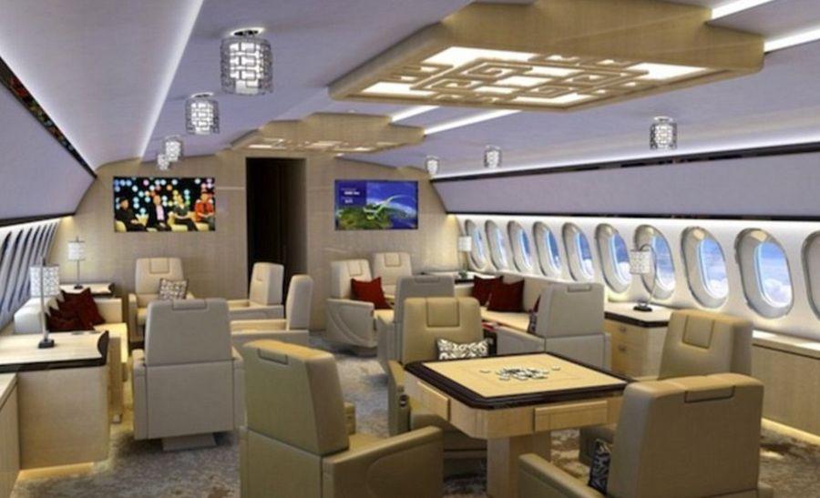 揭全球富豪私人飞机