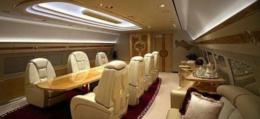 全球富豪私人飞机 奢华至极!