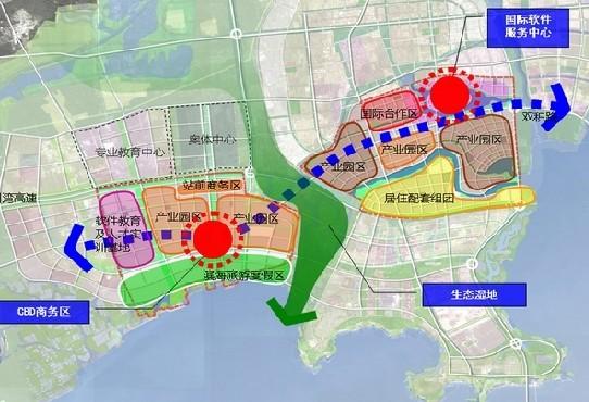 胶州飞机场规划图