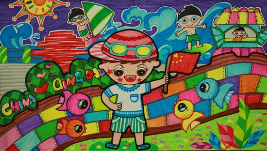 《号令》 青岛李沧路小学四年级二班 安冠儒图片