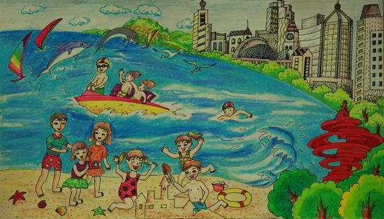 《我可爱的家》 青岛实验初级中学初三·十二班