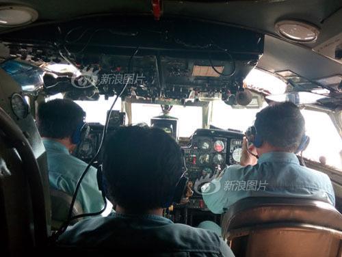 越南救援飞机内部