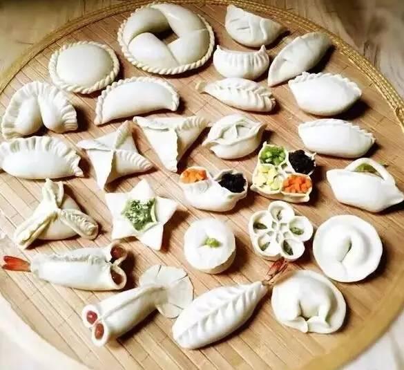 各式饺子包法花样百出!