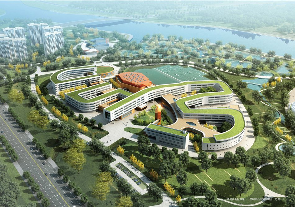 青岛卓越大厦平面图