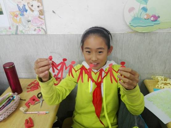 4折剪纸蝴蝶步骤图解
