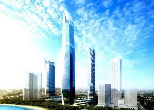 山东第一高楼,在青岛开建啦!369米,总投137亿!