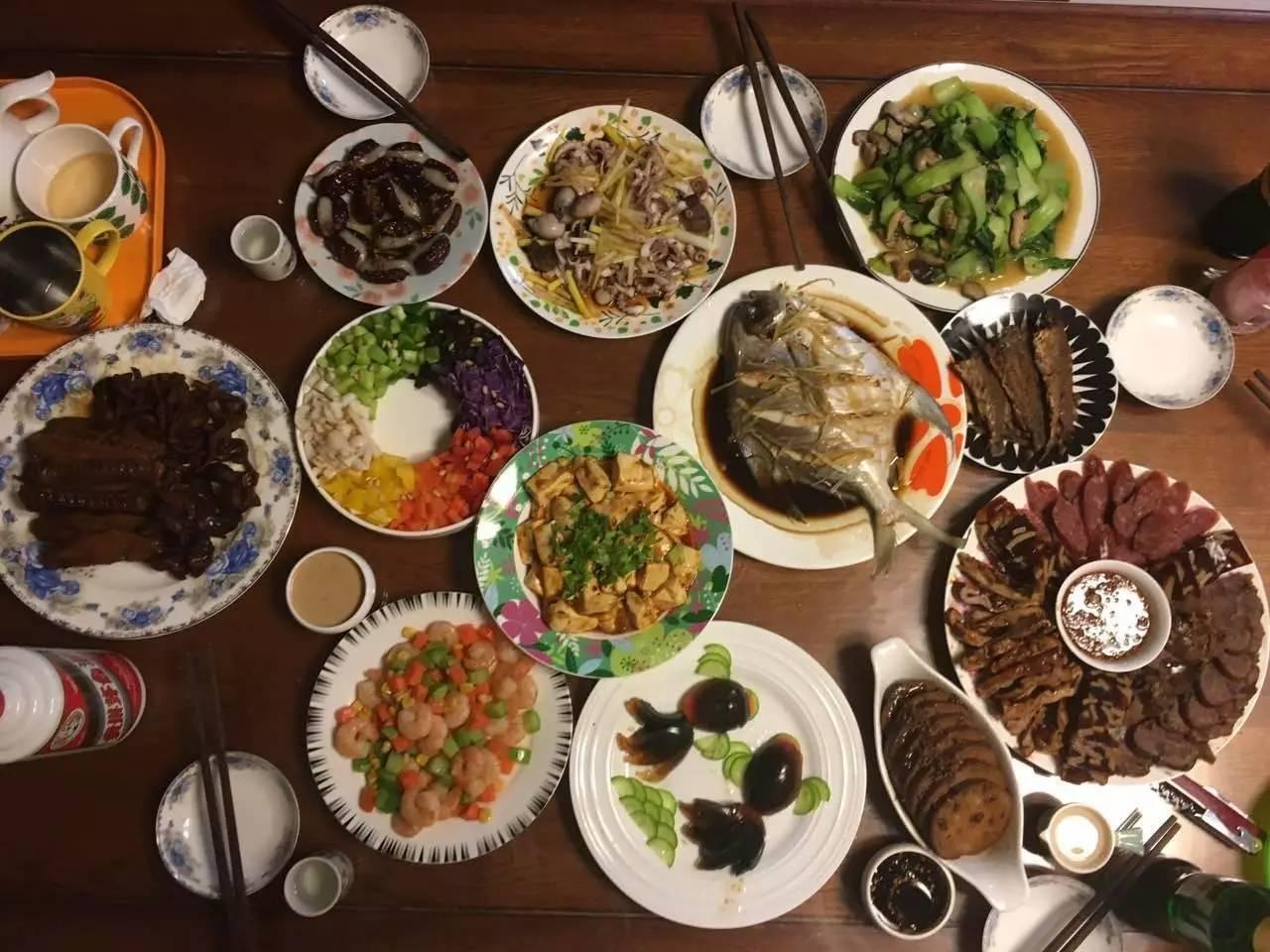 高圆圆来青岛_没想到这是一条有福利的年夜饭盛宴!我最喜欢第30桌… - 青岛 ...
