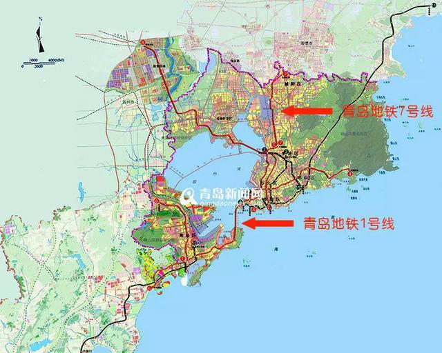 途径黄岛汽车站,青岛火车站,    火车北站,流亭国际机场,汽车北站