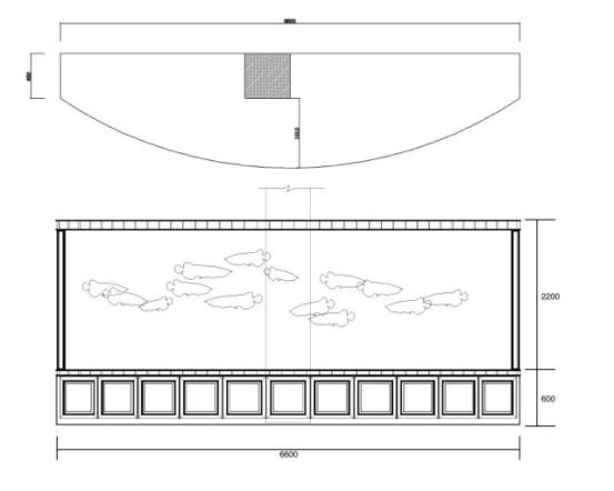 展台设计平面图cad