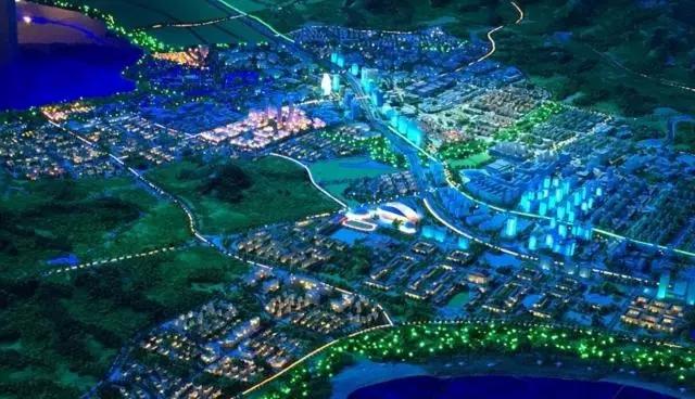 中国蓝谷规划图片