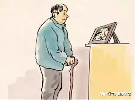 母亲背影 卡通图片