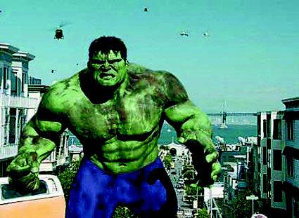 《绿巨人》无愧强档猛片